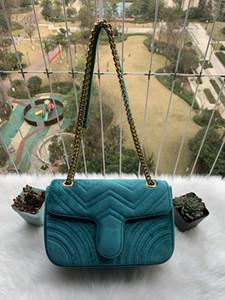 Luxurys Designers Sacs Sac à bandoulière en peluche de haute qualité
