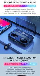 Original F9 Wireless Headphones TWS Bluetooth5.0 earphone HiFi IPX7 Waterproof earbuds Touch Control Headset for sports  game