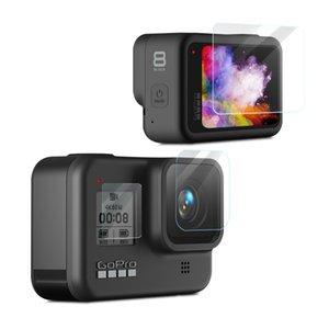 ل GoPro Hero8 Black Camera Lens HD فيلم واقية شاشة LCD حامي الشاشة HD