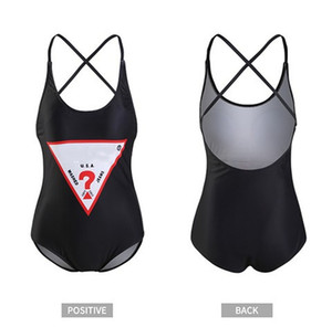 Luxury Sexy One-piece Bikini For Women Swimsuit With Letters Summer Brand Swimwear Lady Backless Bathing Suits 3 Colors S-XL Optional
