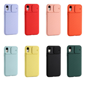 Hot sale high quality phone case personality phone case camera slide lens protector mobile