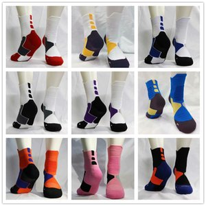 USA Professional Elite Basketball Socks Mens Long Knee Athletic Sport Socks Fashion Walking Running Tennis Compression Thermal Sock men+kids
