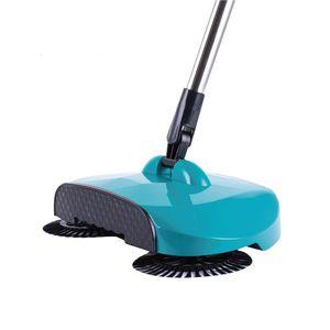 Máquina de barrido Tipo de empuje Mano Push Push Magic Broom Dustap Tuspan Mango Limpieza Hogar Paquete Mano Push Sweeper Mop SQCFME DH_Seller2010
