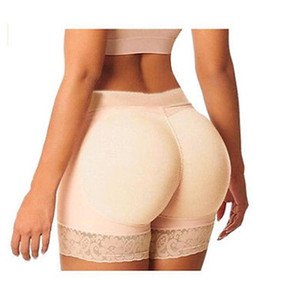 Women Pantie Push Up Hip High Waist Elastic Padded Panty Safety Underwear Skinny Boyshort Slimming Waist Trainer Hip Enhancer