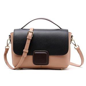 Saco das Mulheres Pequenas 2021 Novo Bump-Color Stiletto Bags Mulheres Grande Capacidade Uma bolsa de moda um ombro