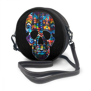 Skull Phone For Round Abstract Crossbody Shoulder OLN Fashion Messenger Bags Daily Use Bag Cell Women Wallet Seclq Kcool