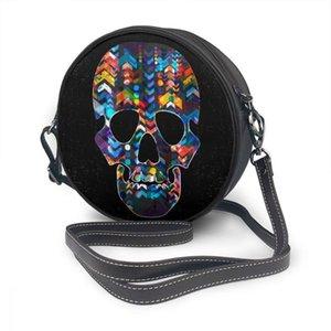 Téléphone Abstract Sac rond Skull Portefeuille pour sacs à cellules OLN OLN OLN UTILISER HANDBOY Messenger Seclq Fashion Femmes Hmrol