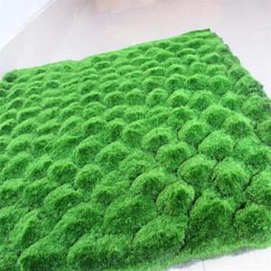 Flone Party Artificiale Plants Plants Plant Simulazione Pianta Pianta Sfondo Parete Moss Moss Turf Green Sod Sod Window Finestra Decorazione Home Decor Impianti