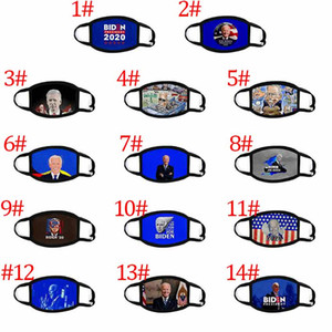 2021 DHL Election Keep America Great Biden Party Anti Dust Pollution Washable Breathable Cotton Masks Home and Garden