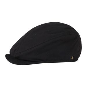 القبعات الذكور زائد الحجم اللبلاب قبعة كبيرة رئيس رجل الربيع القطن sboy كاب الصوف قبعة القبعات الشتاء شعر شقة 54-56 سنتيمتر 56-58 سنتيمتر 58-60 سنتيمتر