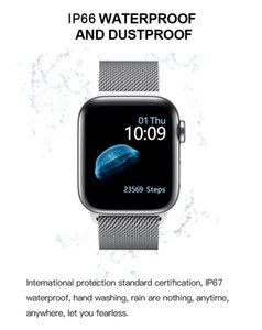 Smartwatch IWO T500 PK 5 Bluetooth Call 44mm Smart For 12 IWO Monitor Blood Pressure Watch IOS Android Series IWO13 Heart 8 Rate Crnlf