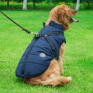 Hot Sale Autumn and Winter Warm Dog Clothes Medium and Large Dog Pet Cotton Coat Golden Retriever Pet Dog Clothes Fashion Jacket