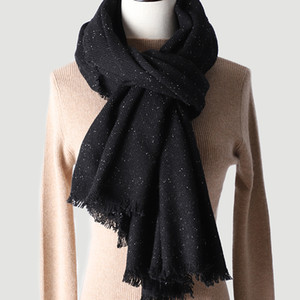 2020 new silk color wool scarf cashmere shawl