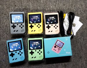 Portable Macaron Handheld Game Console video Retro 8 bit Game Players 500 Games 3 In 1 AV GAMES Pocket Gameboy Color LCD