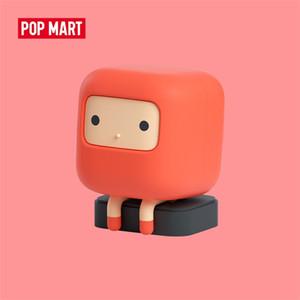 Pop Mart Kimparks Lab 45Cuub Serie 1 pieza Animal Toys Figura Figura Figura Caja de cumpleaños Regalo de cumpleaños Niño Juguete LJ201031