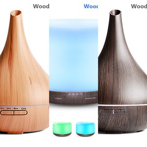 550ML Ultrasonic Aromatherapy Humidifier Essential Oil Air Purifier Home Xiaomi Mist Maker Aroma Diffuser LED Light