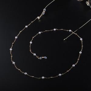 Luxury Handmade Elegant Pearl Beaded Glasses Chain Women Sunglasses Lanyard Strap Reading Eyeglass Chains Strap Landyard H bbyDUj