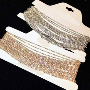 Jewelry Luxury Rhinestone Choker Crystal Maxi Statement Necklace Multilayer Wedding Chokers Necklace Fashion Jewelry Accesso