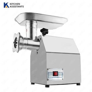 TK12 Edelstahl Fleischverarbeitungsmaschinen Verarbeitungsmaschinen Fleischschleifer Gehaltern 12 Typ 150kg / h