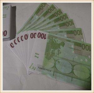 Faux d'argent Bills Banque d'argent Papier d'argent? 100 Euro Fake Euros Business Note Business PROP 2020 Prix du papier GDJDO