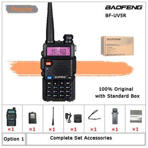 워시 토키 CE FCC Baofeng UV5R VHF / UHF 핸드 헬드 양방향 라디오 UV-5R 햄 중국어 산책