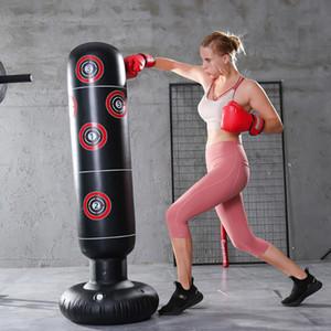 Stress gonflable de 1,6 m Poinçon Tour de la tour Boxe Gumbler Muay Training Pressure Soulagement Bond Sandbag Fitness Equitation