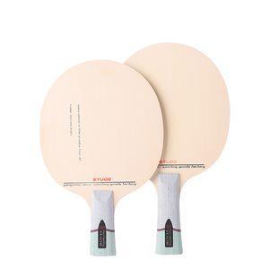Stuor Утолщенных Хинки настольного теннис лезвия хинки древесина пинг-понг ракетка 5 слоев со встроенным волокном углерода FL Z1118