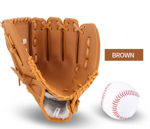 High Quality Leather Baseball Glove Pitcher Gloves for Match Training Kids Women Man Outdoor Sports Accessories