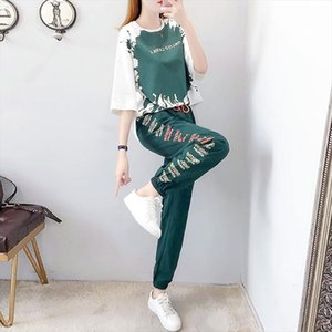 Womens clothing two piece set womens sportswear wifes pants and tops plus size 2 piece tops cute winter sports woman