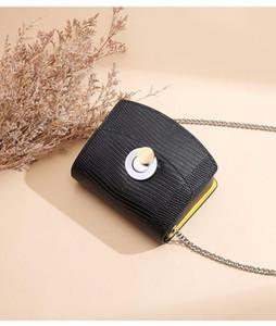 Top Quality 3 colors Women Shoulder bag gold and silver chain bag Crossbody Pure color handbag crossbody Messenger tote bag purse wallet