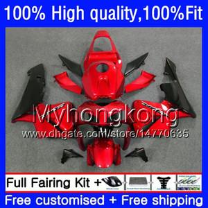 100% Fit For HONDA CBR600F5 CBR600 RR CBR600RR Pearl red hot 05 48HM.208 CBR 600RR CBR 600 CC RR 600CC F5 05 06 2005 2006 Injection Fairings