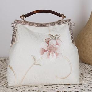 Embroidery bag cheongsam with classic women's handbag elegant, Chinese style handbag wallet handbags women bags designer