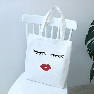 2020 jolies et mignons lashes lèvres rouges lèvres femmes impression solide couleur épaule sacs sacs décontractés vogue sac à main pour femmes sac