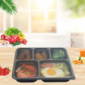 Il cibo grade PP materiale contenitore per alimenti di alta qualità bento contenitore di conservazione degli alimenti scatola per HWD2997 all'ingrosso