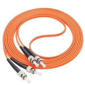 Cable de cable de remiendo de remiendo de fibra óptica, ST / UPC-ST / UPC, diámetro de 3.0 mm, Multimodo OM1 62.5 / 125, DUPLEX1