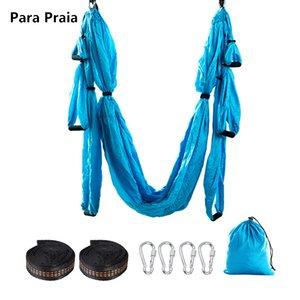 Hot Sale Yoga Hammock Anti Gravity Ultralight Parachute Nylon Aerial Yoga Swing hammock Unmissable Fitness Equipment Home Gym Q1125