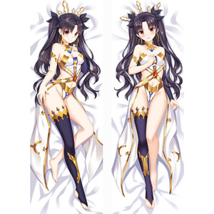 Anime Fate Grand Order Zero pillow Covers Dakimakura case Sexy girls 3D Double-sided Bedding Hugging Body pillowcase Fate FT40A Y1221