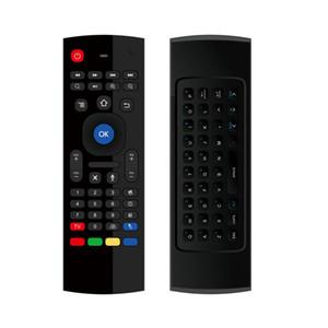 MX3 Air Mouse Universal Smart Voice Control Telecomando 2.4G RF Tastiera wireless per Android TV Box A95X H96 MAX X96 Mini