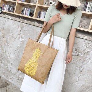 Brown Kraft Paper Paper Anapse Shopsious Sulk с кожаными ручками Сверхмощные экологически чистые бумажные сумки большие кошельки