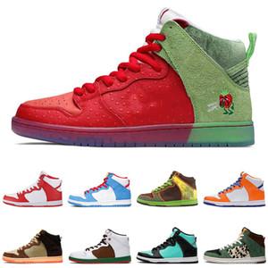En OG SB Dunk Düşük Tasarımcı Kaykay Ayakkabı Travis Scotts Platformu Erkekler Kadınlar Sneakers Beyaz Turuncu Yeşil Spor Eğitmenler Chaussures