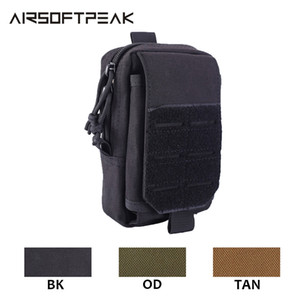 Tactical Molle Pouch 1000D Nylon Military Waist Bag EDC Pack Outdoor Vest Belt Pack Hunting Phone Case Airsoft Accessories Tools Q1117