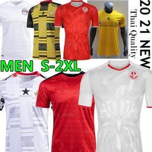 2020 2021 South Soccer Jerseys Africa National Football Team Egitto M.salah # 10 Ghana Tunisia Casa Away Thait Uomo Camicie da calcio Thai
