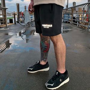 Essentials FOG Mens Sportswear Shorts 3M reflective Color Shorts Letter Printing Highstreet Vintage Men Streetwear Shorts new X1116