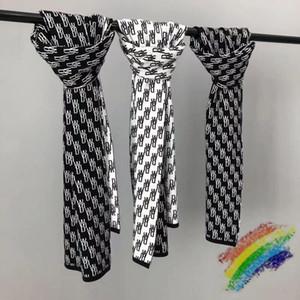 Meilleure qualité manchon silencieux écharpe foulard hommes femmes tricoter châle tonal patch écharpe bandeau