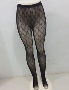 Donne nere sexy calze lunghe moda moda sottile pizzo mesh collant morbido traspirante classico classico cavo collant