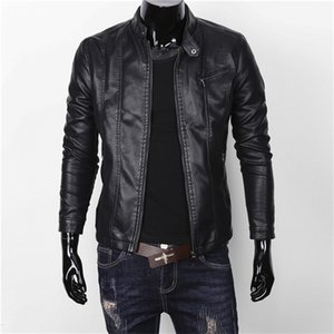 Freeship Mens Pu Jacket / Moda W1227