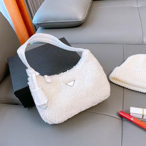 Sac à bandoulière supérieure 20aw Mode Fashion Texture Sous-arts Sac de sac de haute qualité Sac à main à fourrure 5 couleurs WF2012021