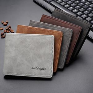 Hot Sale New men wallet fashion multi-card handbags ultra-thin retro soft wallet wholesale designer purse designer card holder wallet mens
