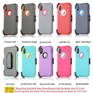 2020 New Defender Armor Shockproof Robot Case for iPhone 11 Pro Max XS XR X 6 7 8 Plus