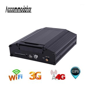 GPS WIFI 3G 4G MDVR HDD بطاقة SD AHD 720P 8 قنوات المحمول DVR للسيارة سيارة مقطورة شاحنة تاكسي مدرسة باص